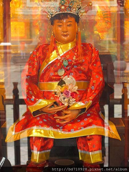 台北大龍峒保安宮送花童子聖像
