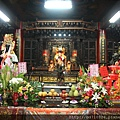 嘉義城隍廟後殿,名為「大天后宮」,主祀:天上聖母