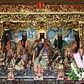 嘉義城隍廟四樓「五恩主殿」,主祀:五聖恩主