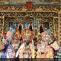 嘉義城隍廟五樓「三清殿」,主祀:三清道祖