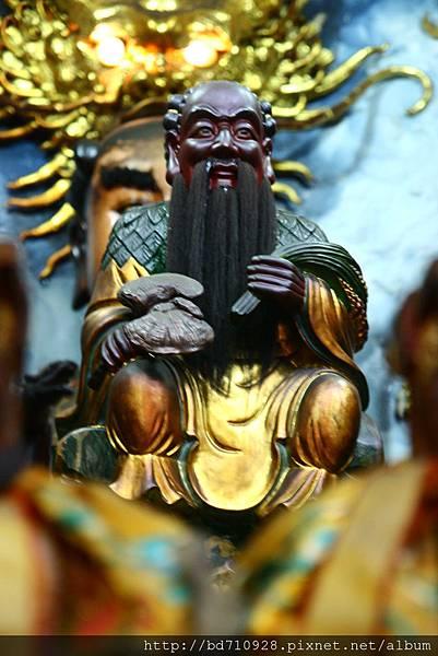 嘉義大天宮神農老祖聖像