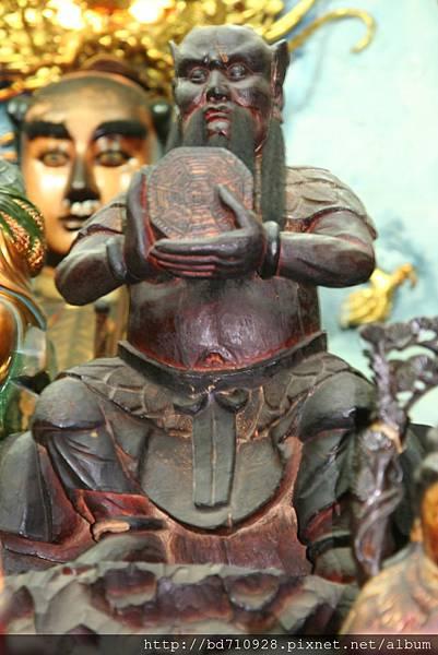 嘉義大天宮伏羲聖帝聖像