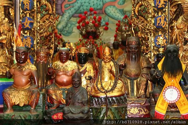 嘉義大天宮註生娘娘等列位神佛聖像
