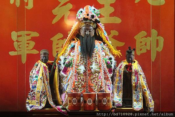 台北大龍峒和華樂社武英殿西秦王爺聖像