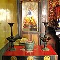 金福宮正殿虎邊神龕,奉祀:註生娘娘
