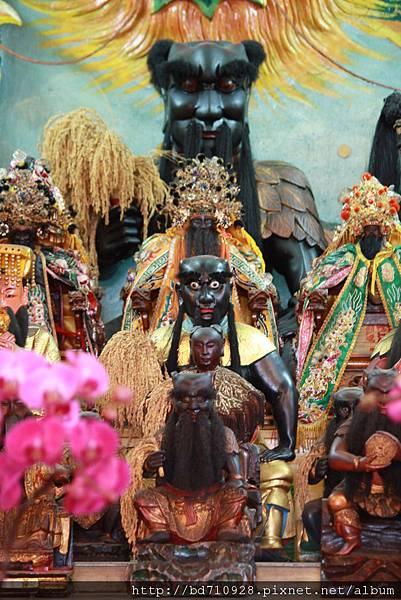 台東神農宮神農大帝聖像