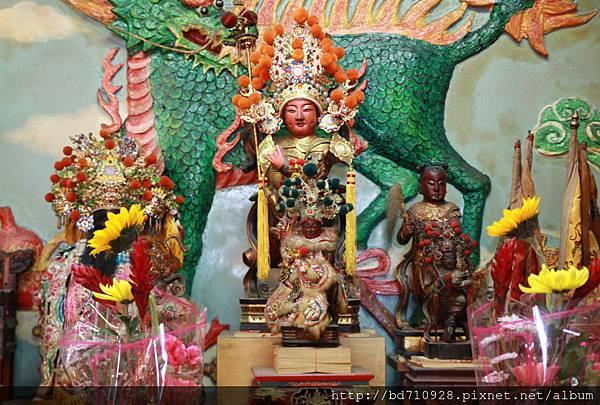 台東神農宮中壇元帥聖像