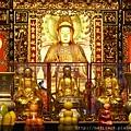 艋舺龍山寺觀音菩薩、善才、龍女聖像