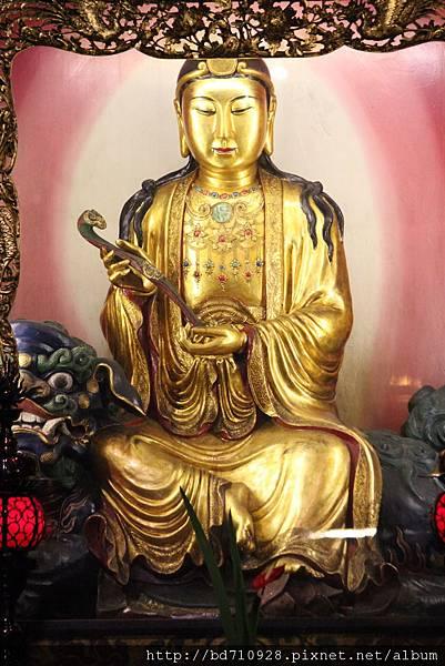 艋舺龍山寺大智文殊菩薩聖像