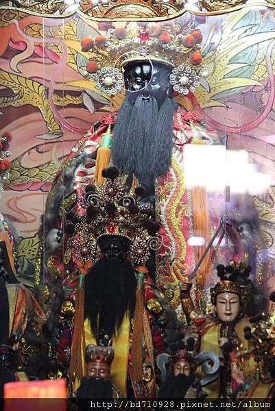 艋舺大眾爺廟鎮殿大眾爺聖像