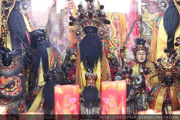 艋舺大眾爺廟大眾爺聖像
