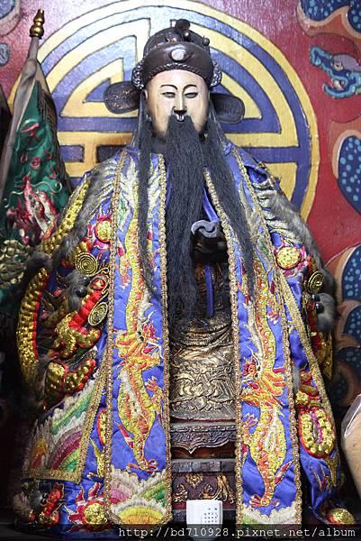 艋舺大眾爺廟文判官聖像