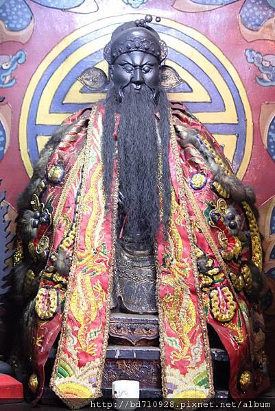 艋舺大眾爺廟武判官聖像