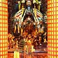 高雄霞海城隍廟正殿列位神佛聖像