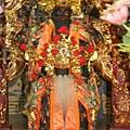 霞海城隍廟正殿虎邊神龕,奉祀:福德正神