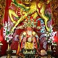 溫王廟一樓正殿虎邊神龕,奉祀:福德正神
