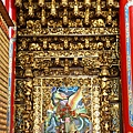 高馬北極殿正殿一樓虎邊神龕,奉祀:福德正神