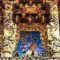 高馬北極殿正殿二樓龍邊神龕,奉祀:準提菩薩