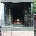 廟前五營神龕,奉祀:五營元帥