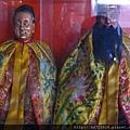 宜蘭城隍廟夫人宮花公、花婆聖像