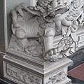 凌霄寶殿殿前石獅