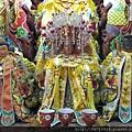 景美代天宮九天玄女、瑤池金母、地母娘娘聖像