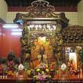 萬慶巖後殿龍邊神龕,奉祀:文昌帝君、地藏王菩薩、天上聖母