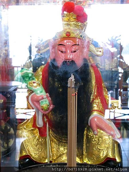 內湖太陽堂武財神聖像
