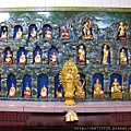 太陽堂正殿龍側十八尊者和二十八星宿聖像