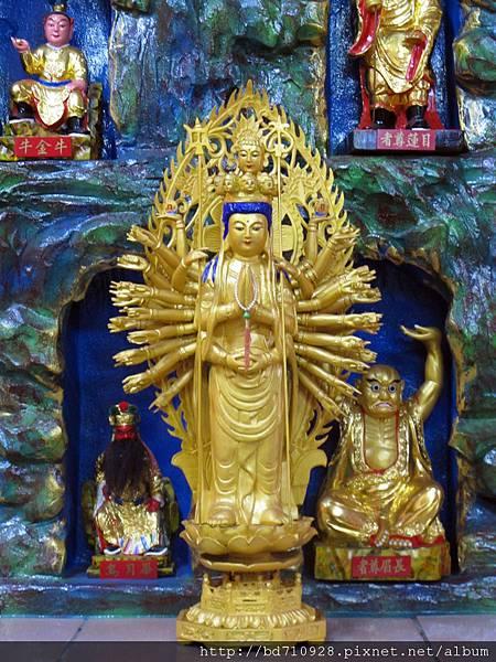 內湖太陽堂千手觀音聖像