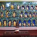 太陽堂正殿虎側十八尊者和二十八星宿聖像
