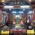 南投藍田書院濟化堂正殿,主祀:文昌帝君