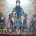 南投藍田書院濟化堂正殿列未文昌帝君聖像