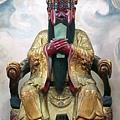 南投藍田書院濟化堂鎮殿關聖帝君聖像