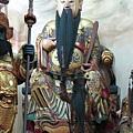 南投藍田書院濟化堂鎮殿司命真君聖像
