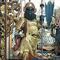 南投藍田書院濟化堂鎮殿周倉將軍聖像