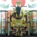 南投藍田書院濟化堂鎮殿城隍尊神聖像