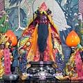 士林芝山宮中壇元帥、山神、關聖帝君聖像