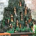 淡水福佑宮正殿虎側十八尊者聖像