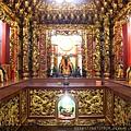 福佑宮祈福殿,奉祀:霞海城隍、關聖帝君、福德正神、虎爺將軍