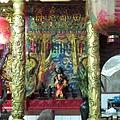 金雞廟正殿龍邊神龕,奉祀:田都元帥