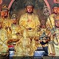 五股龍鳳巖釋迦牟尼佛、藥師佛、觀音佛祖、地藏王菩薩、目蓮尊者菩薩聖像