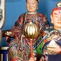 中寮玄義宮帝公聖母瓊瑤大仙聖像