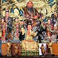 中寮玄義宮正殿虎邊神龕列位神佛聖像