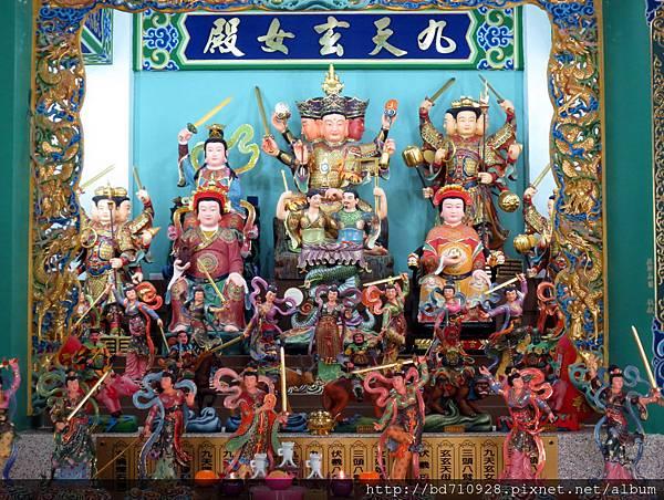 中寮玄義宮「九天玄女殿」列位神佛聖像