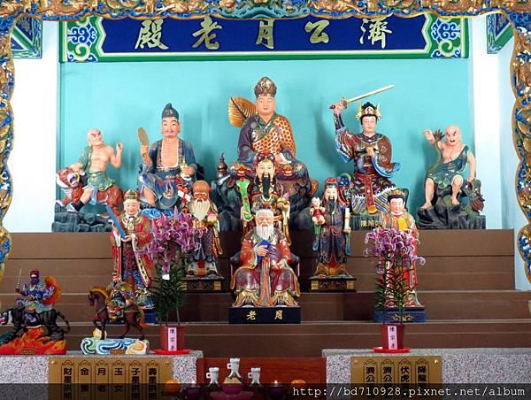 中寮玄義宮「濟公月老殿」列位神佛聖像