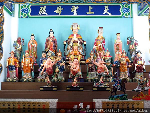 中寮玄義宮「天上聖母殿」列位神佛聖像