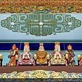 中寮玄義宮凌霄寶殿玉皇上帝、玉皇四極(北極紫微大帝、太極天皇大帝、南極長生大帝、東極青華大帝)聖像