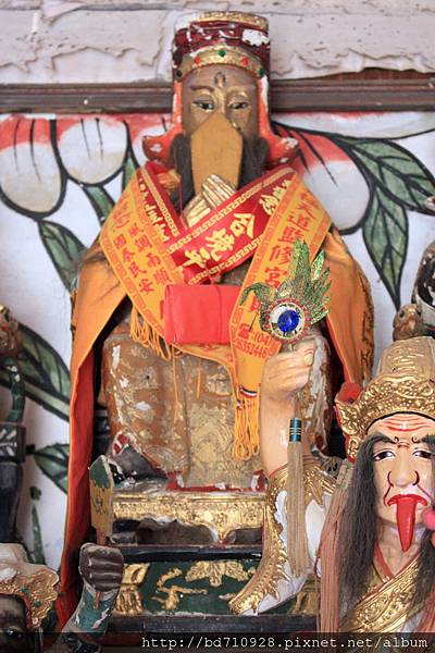 南竿牛峰境五靈公廟(舊廟)張部顯靈公聖像