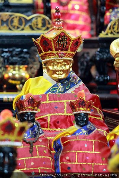 金面清水祖師聖像